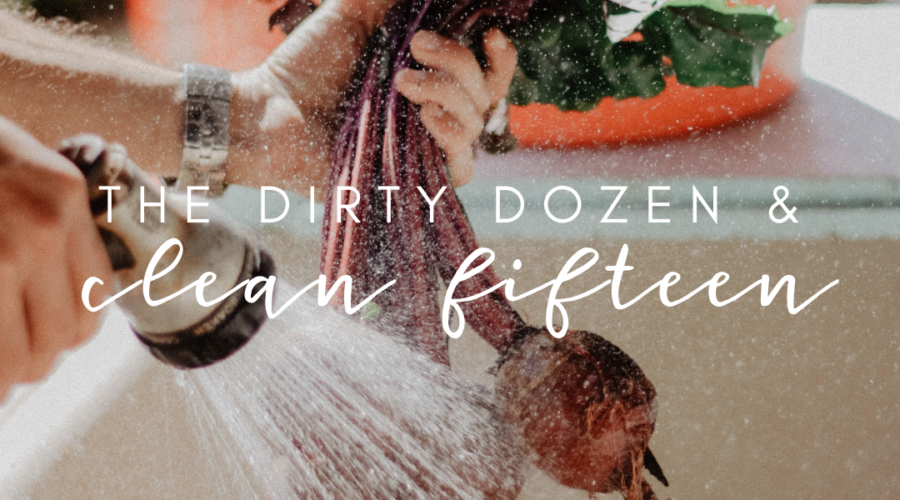 The Dirty Dozen and the clean fifteen!