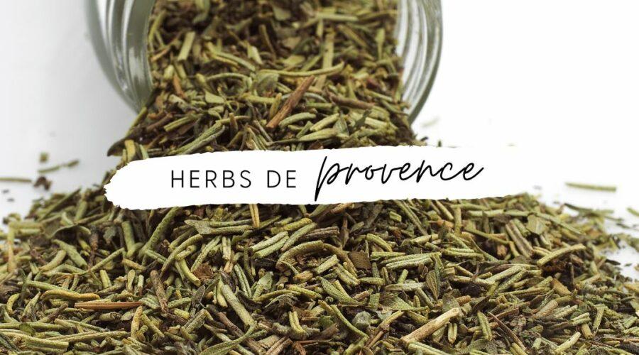Make your own Herbs de Provence!